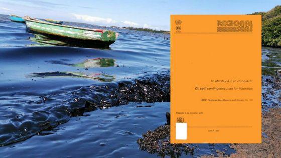 [Document] Un plan d'urgence en cas de marée noire à Maurice élaboré depuis plus de 30 ans
