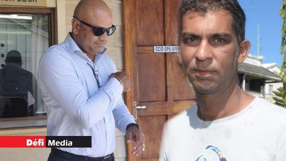 CCID : Vishal Shibchurn et Fardeen Okeeb arrêtés