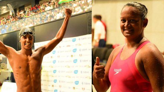 JIOI - Natation : deux nageurs mauriciens handisport décrochent l'or