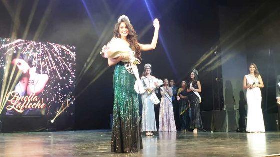 Couronnée Miss Universe Mauritius 2019 : Ornella Laflèche veut combattre «les violences domestiques et la drogue»