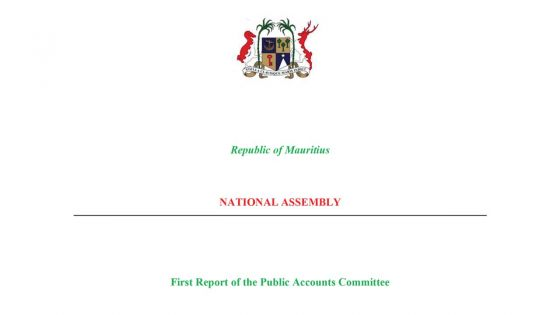 [Document] Découvrez le rapport du Public Accounts Committee