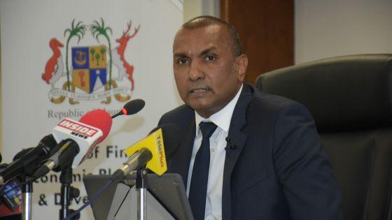 Padayachy annonce l'introduction d'un fond de prêts pour les entreprises en mauvaise passe
