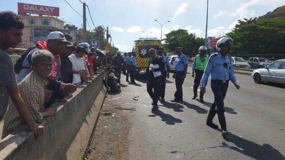 [Images] Pailles : un étudiant étranger tué dans un accident