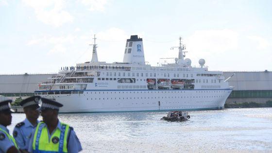 Tourisme : Port-Louis accueillera ses deux premiers paquebots les 13 et 17 décembre