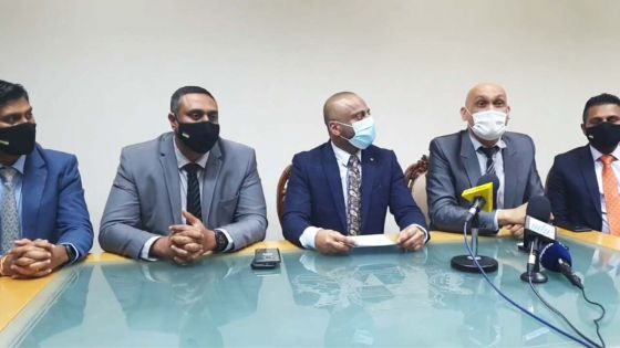 Incidents dans la lunchroom de l'Assemblée nationale : «Nous avons demandé à ce que le dossier soit référé au DPP», dit Hurreeram