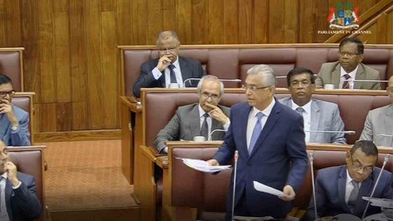 Réforme électorale : « we are still open », déclare Pravind Jugnauth au Parlement