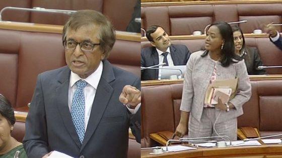 Suite à des échanges avec Anil Gayan : la députée Aurore Perraud expulsée du Parlement