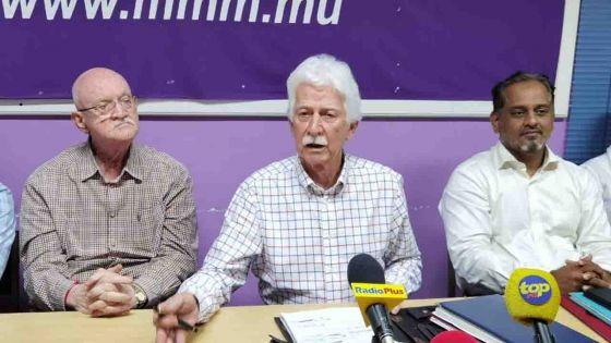 Démission de Boolell comme leader de l'opposition : déclaration de Paul Bérenger