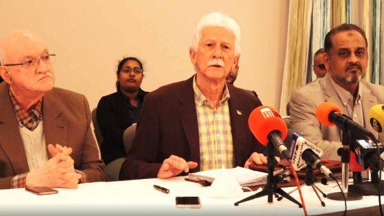 Bérenger réclame que le résumé du rapport d'enquête de la BAD soit rendu public