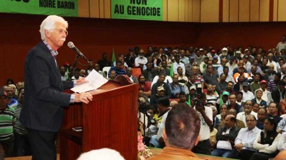 Bérenger : «Ma présence ici est un signe de solidarité vis-à-vis des petits planteurs»