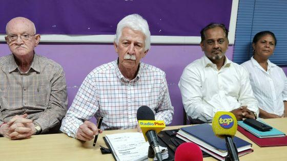 Bérenger : «Comme le PMSD, le MMM demande à Boolell de reprendre sa lettre de démission»