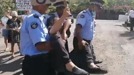 Manifestation contre le projet Legend Hill : Percy Yip Tong arrêté