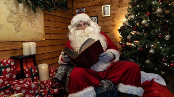 Le Père Noël attend les lettres des petits Mauriciens