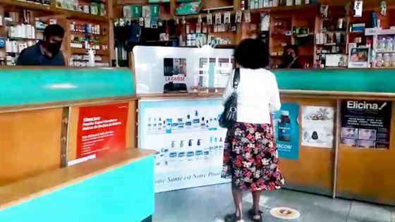 Déconfinement partiel : « Clients disciplinés », indique le propriétaire d'une pharmacie