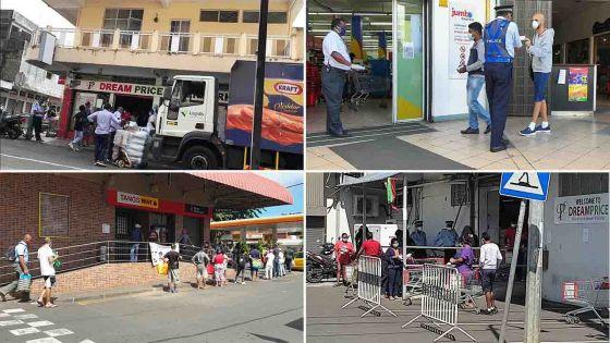 Protocole Sanitaire : pas de contrôle rigoureux pour certains supermarchés