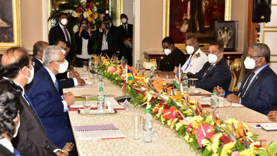 Covid-19 : «Face à la pandémie, nos deux pays ont montré qu'ils sont résilients», déclare le président seychellois Ramkalawan