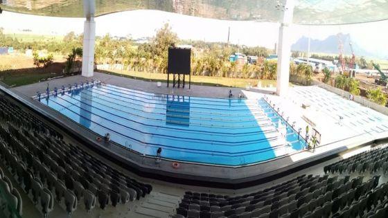 Côte-d'Or – piscine et tatami fin prêts pour les JIOI