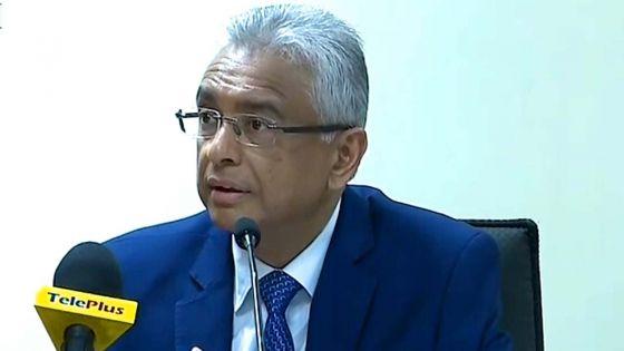 Wakashio - Le PM : «Ou kapav dir mwa kot monn fote pou mo prezant eskiz?»