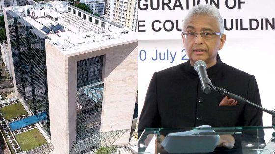 E-Inauguration de la nouvelle Cour suprême : «Mon gouvernement a choisi de privilégier la modernisation», dit le PM