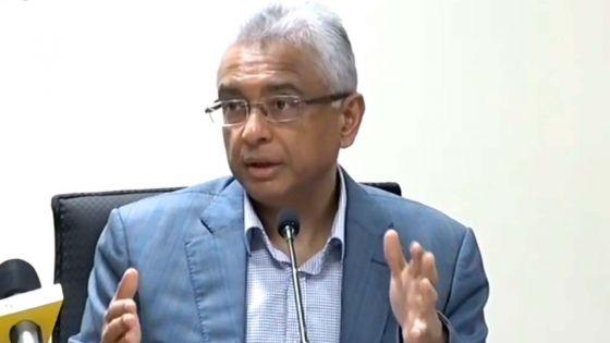 Marée noire : suivez en direct le point de presse du Premier ministre, Pravind Jugnauth