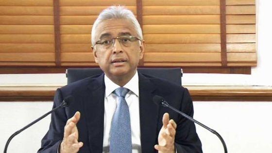Pravind Jugnauth salue les Mauriciens qui ont participé à la marche citoyenne samedi