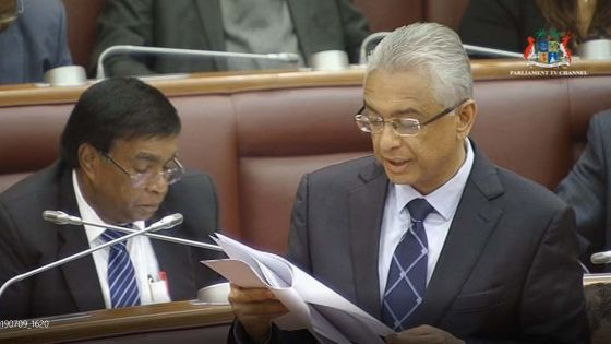 Political Financing Bill : il est maintenant temps pour l'opposition de «walk the talk», dit le PM