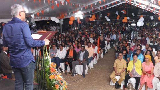 Pravind Jugnauth promet que la pension de vieillesse passera à Rs 9 000 à partir de décembre en cas de victoire