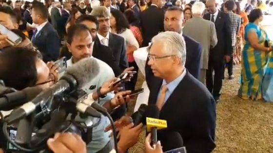 Pravind Jugnauth sur Navin Ramgoolam : «Mo espere li resezi li»