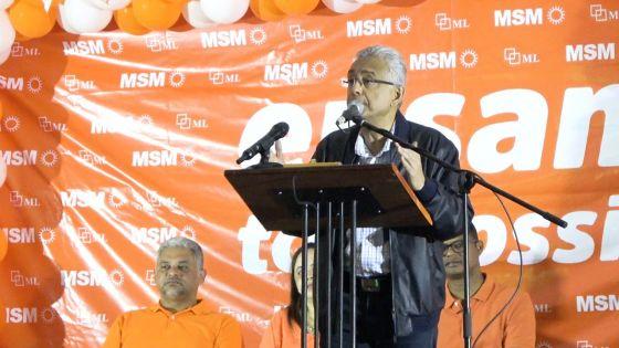 Pravind Jugnauth : «MMM pa pou monte kadadak lor nou»