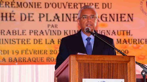 Pravind Jugnauth sollicite un « autre mandat » comme Premier ministre