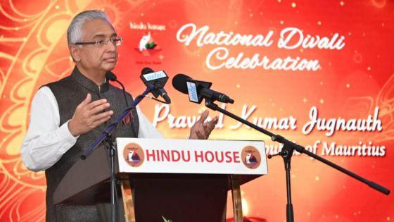 Le PM : «Ceux qui prétendent diriger le pays doivent s'inspirer de la vie de Sri Ram»