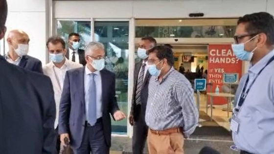 Covid-19 : visite de Pravind Jugnauth au Wellkin Hospital pour s'enquérir de l'état de santé de Ramgoolam