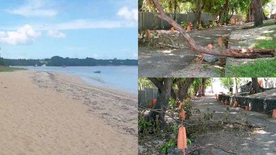 Confinement : la plage de La Preneuse laissée à l'abandon