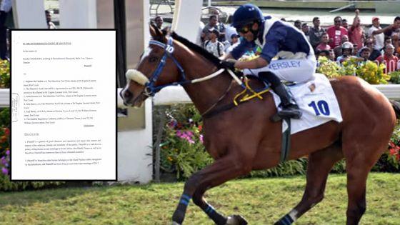Allégations de «race fixing» : le jockey Kersley Ramsamy contre-attaque et réclame des dommages de Rs 2 M
