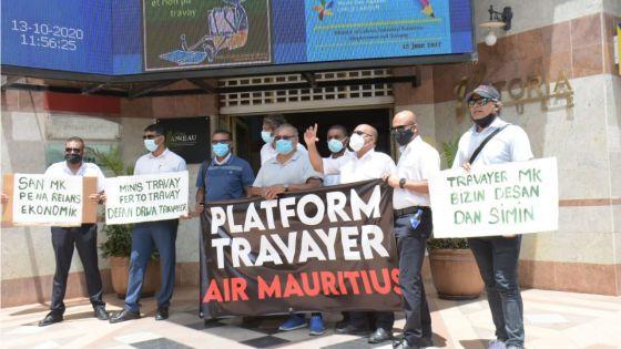 Platform Travayer Air Mauritius : des employés de MK comptent manifester à Port-Louis