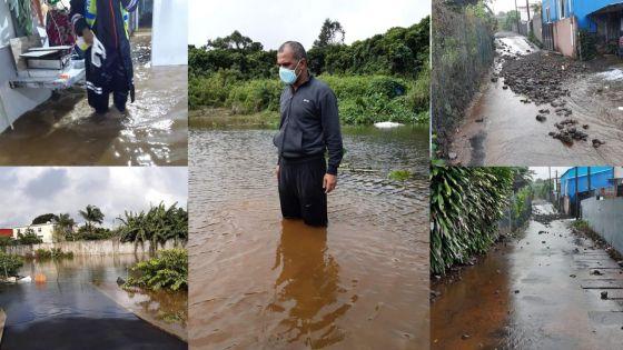 Inondations : l'effroyable expérience d'une dizaine de familles de La Marie