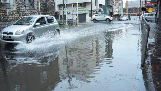 [En images] Pluie et accumulations d'eau : six interventions effectuées par les sapeurs-pompiers