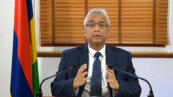 Suivez en direct le message du Premier ministre, Pravind Jugnauth, à la Nation