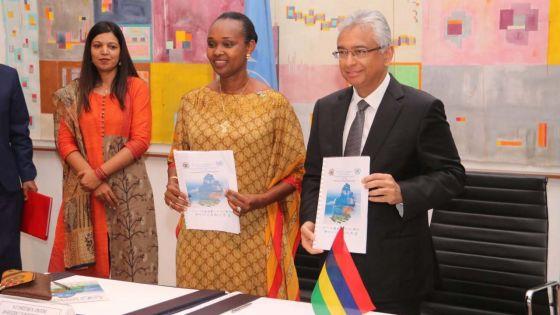Le gouvernement et l'ONU s'engagent à œuvrer pour améliorer le quotidien des Mauriciens