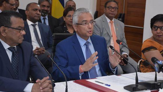Pétitions électorales : «Certains pe al fini zot carrière politik dan la honte», s'indigne Pravind Jugnauth