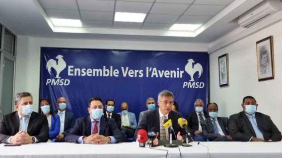 Conférence de presse du PMSD