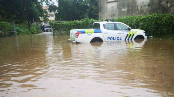 Post-intempéries : la police de Métro Nord pas épargné par les fortes pluies