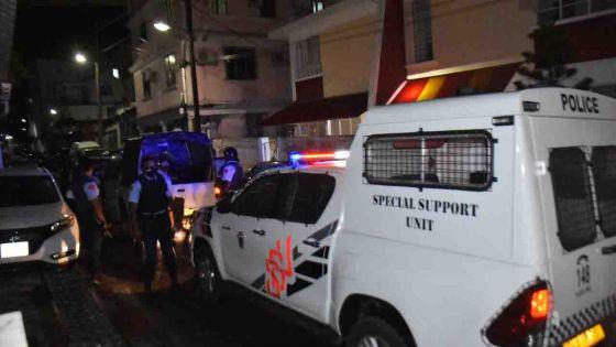 Policière tuée lors d'une opération de l'Adsu : grosse mobilisation policière aux abords des domiciles des deux suspects