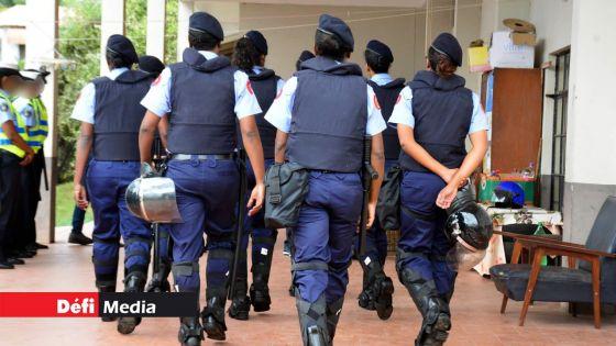 Covid-19 - Force policière : Enceintes et à risques