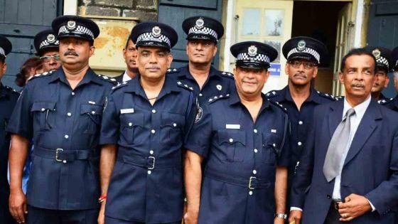 Force policière : découvrez la liste des promus