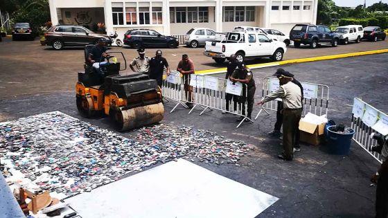 Destruction des portables... insupportables en prison