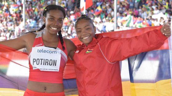 JIOI - Athlétisme  : or et argent pour Maurice chez les femmes en triple saut