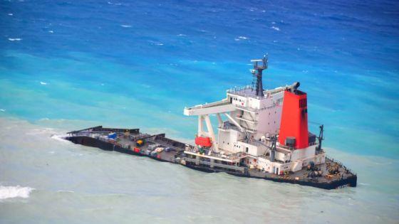 Un appel d'offres pour démanteler la poupe du MV Wakashio