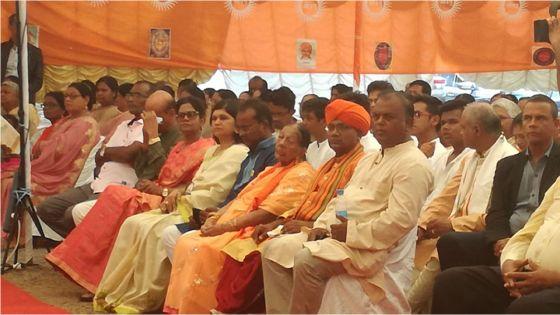Rishi Bodh : présence remarquée de Pratibha Bholah, récemment expulsée du PTr, à Calebasses