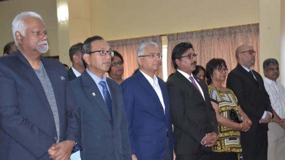 Quatre-Bornes : le chef du gouvernement promet d'accentuer la formation des infirmières